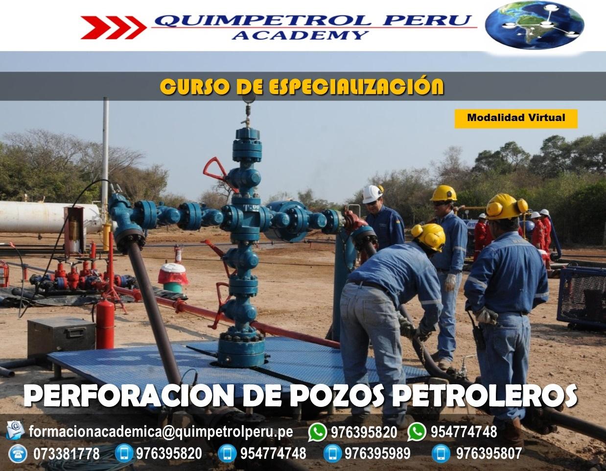 Curso de especialización: Perforación de pozos Petroleros