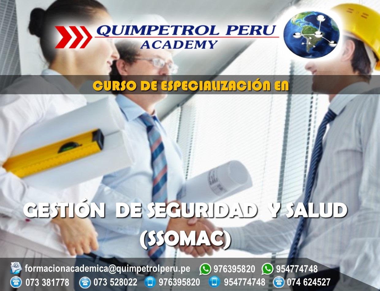 Curso de Especialización: Gestión de Seguridad y Salud (SSOMAC)