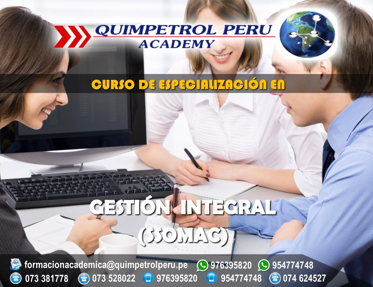 Curso de Especialización: Gestión Integral (SSOMAC)