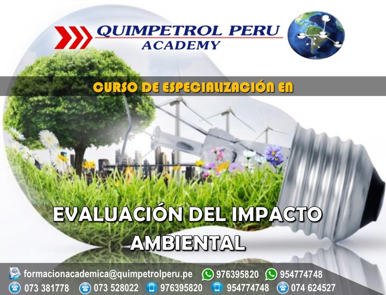 Curso de Especialización: Evaluación del Impacto Ambiental